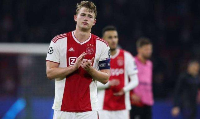 Ajax und Matthijs de Ligt mussten sich Tottenham geschlagen geben
