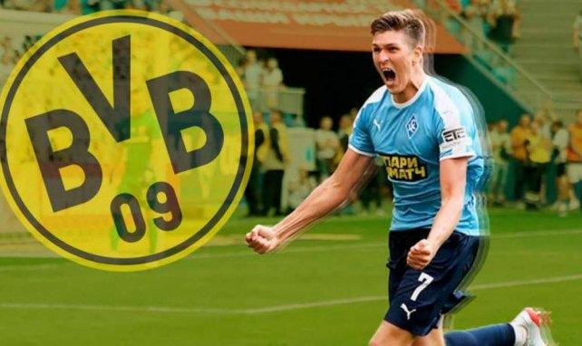 Aleksandr Sobolev wurde von Borussia Dortmund beobachtet