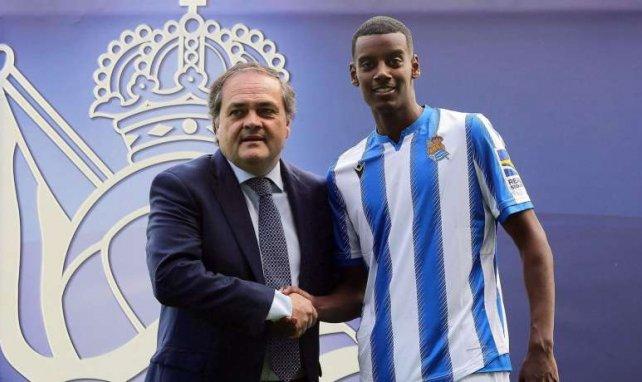 Alexander Isak stürmt fortan für San Sebastián