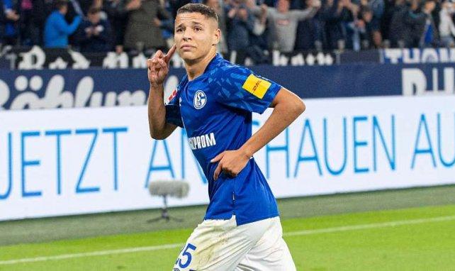 Amine Harit nach seinem Traumtor gegen Mainz
