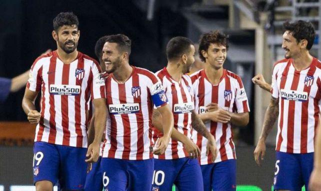 Bei Atlético Madrid herrscht gute Laune