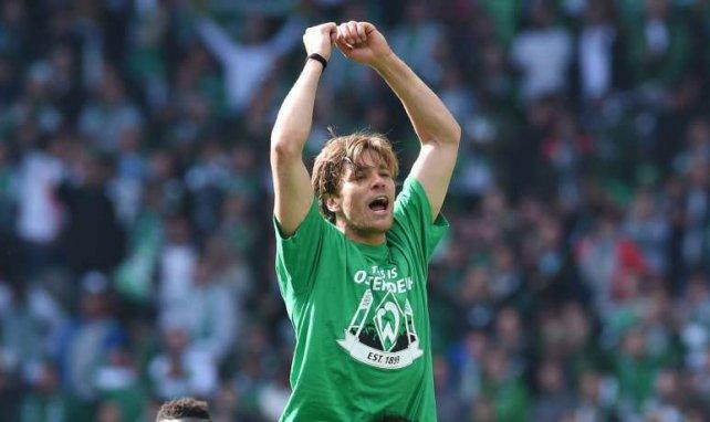 Clemens Fritz als Werder-Spieler