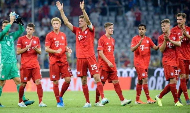Der FC Bayern belegte Platz zwei beim Audi Cup