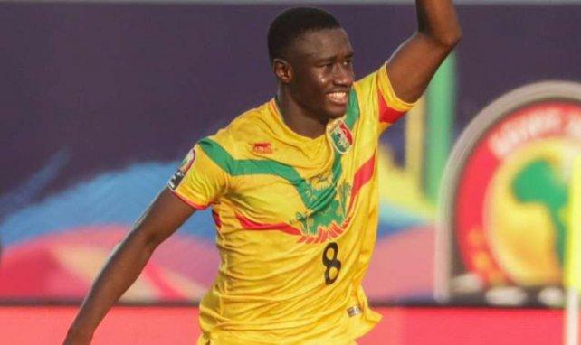 Diadie Samassékou spielte beim Afrika-Cup für Mali