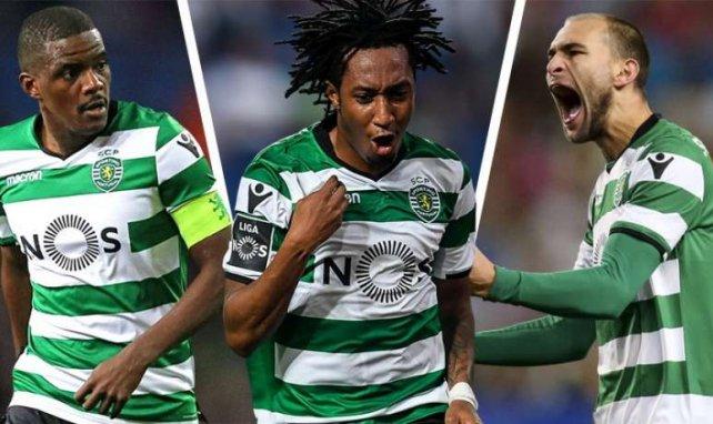 Einige Sporting-Stars stehen vor dem Absprung