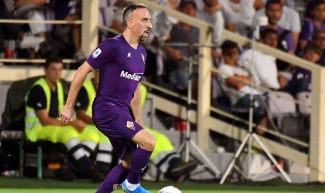 Franck Ribéry gab sein Pflichtspieldebüt für die Fiorentina