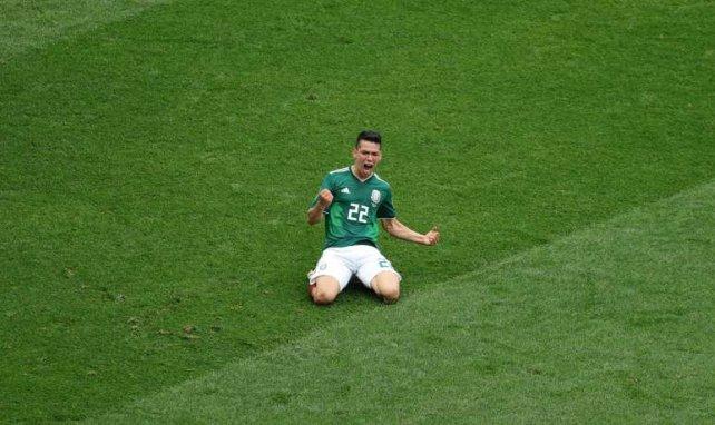 Hirving Lozano überzeugte bei der WM für Mexiko