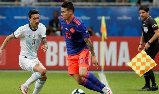 James spielt derzeit die Copa América