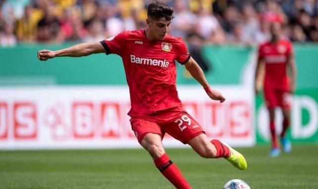 Kai Havertz spielt bei Bayer Leverkusen groß auf