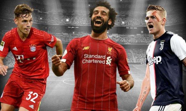 Kimmich, Salah und de Ligt gehören zu den Kandidaten