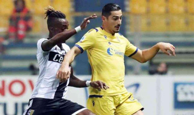 Koray Günter (r.) begeistert bei Hellas Verona