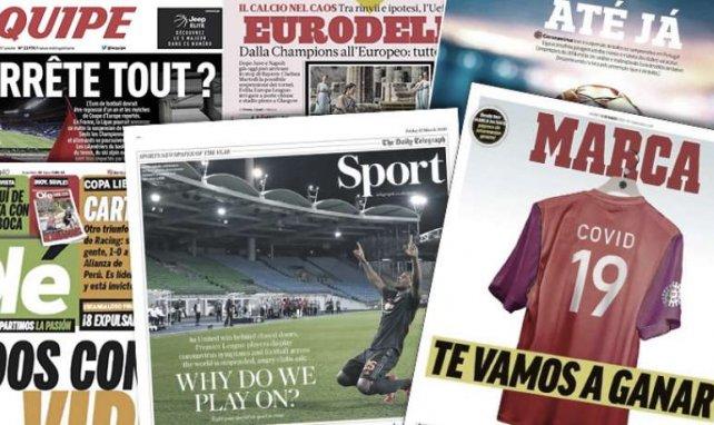 Corona legt den Fußball lahm | EM in Gefahr