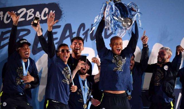 Manchester City bejubelt den zweiten Titel in Folge