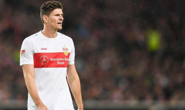 Mario Gómez kehrte im Januar 2018 zum VfB zurück