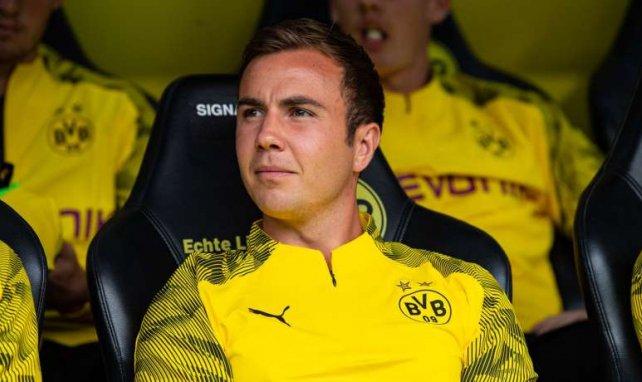 Mario Götze sitzt beim BVB aktuell meist auf der Bank