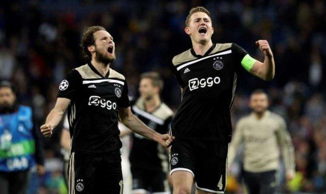 Matthijs de Ligt (r.) wird Ajax im Sommer verlassen