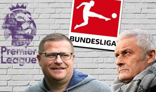 Max Eberl und Armin Veh sehen Englands Vorteile schwinden