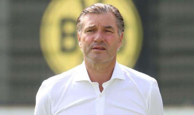 Michael Zorc erläutert die BVB-Pläne