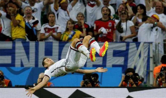 Miroslav Klose ist WM-Rekordtorschütze