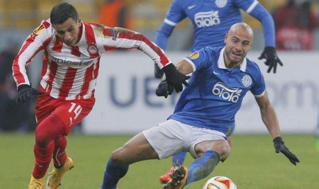 Mit dem BTSV abgestiegen, jetzt in der Champions League: Omar Elabdellaoui (l.)