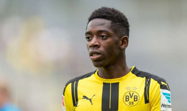 Ousmane Dembélé landete letztlich beim BVB
