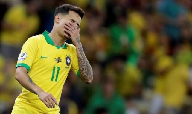 Philippe Coutinho ist in Barcelona nicht gesetzt