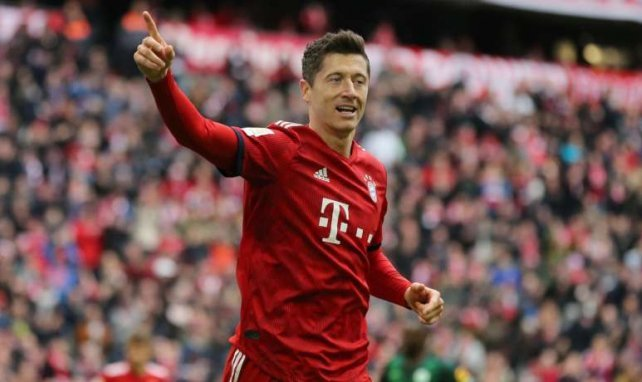 Robert Lewandowski könnte noch lange für Bayern stürmen