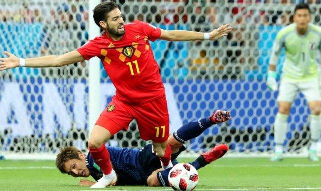 Yannick Carrasco wurde mit Belgien WM-Dritter
