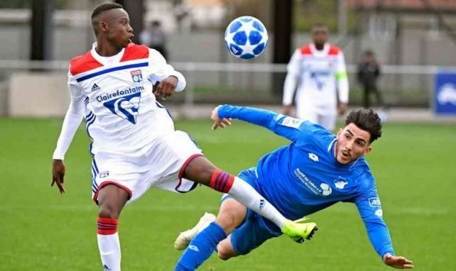 Yaya Soumaré (l.) traf in der Youth League auch schon auf die TSG Hoffenheim