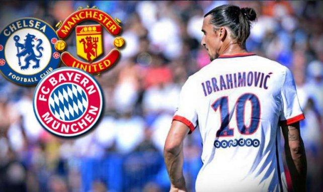Zlatan Ibrahimovic hat viele Verehrer