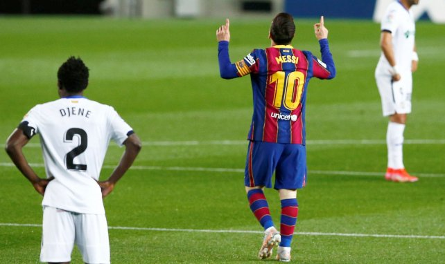 Messi: Zur Unterschrift angekommen