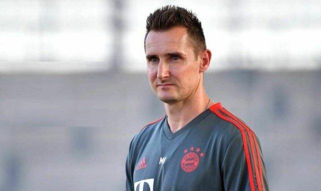Miroslav Klose heuert bei den Profis an