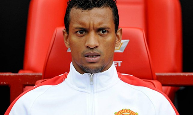 Nani im Dress von Manchester United