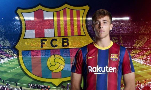 Neuer Vertrag für Barça-Talent González