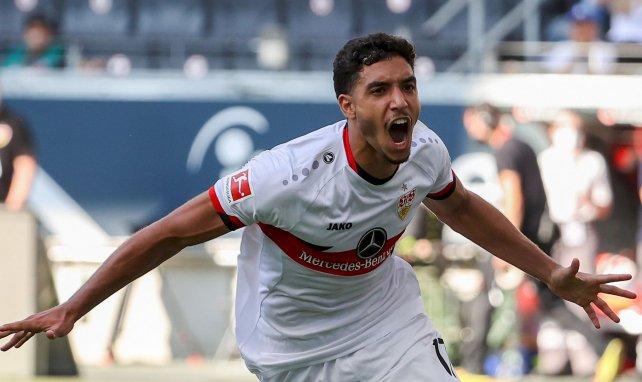 Omar Marmoush traf bei seiner VfB-Premiere