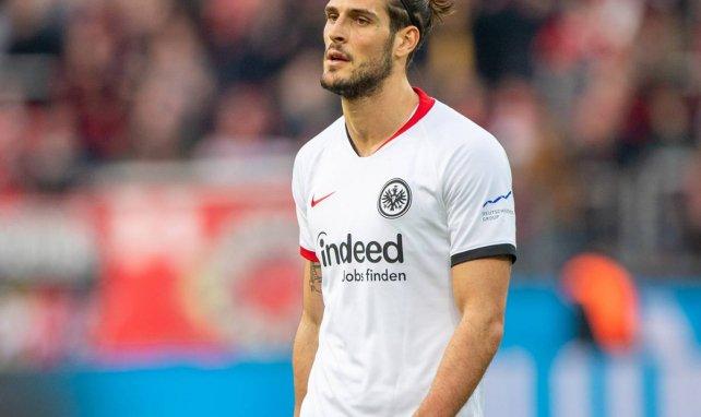Gonçalo Paciência im Trikot von Eintracht Frankfurt