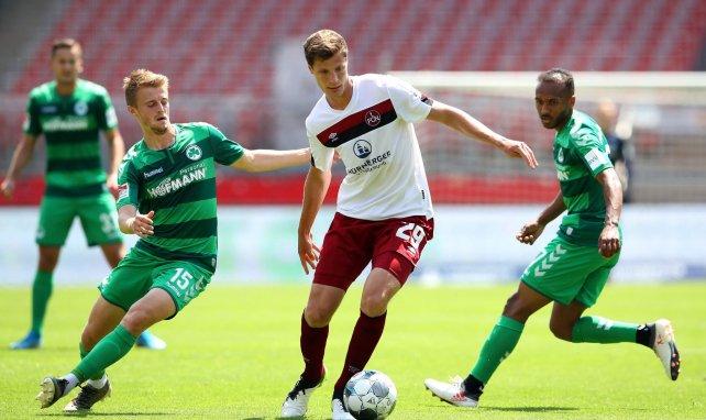 Patrick Erras im Derby gegen Fürth