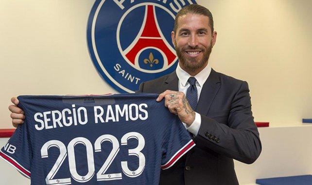 Sergio Ramos wechselte zu Paris St. Germain