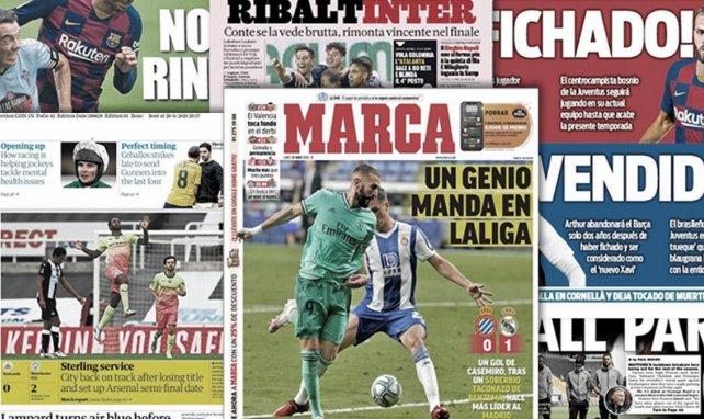 Benzema verzaubert La Liga   Inter in Lauerstellung