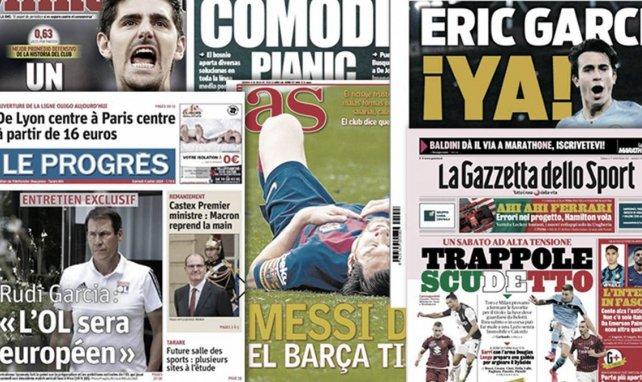Ehrfurcht vor Bayern | Messi lässt Barça zittern