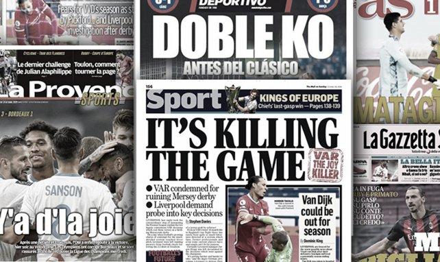 Bittere Niederlagen für Real und Barça | Derby-König Zlatan