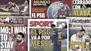 Frustration um Messi | Salah bleibt