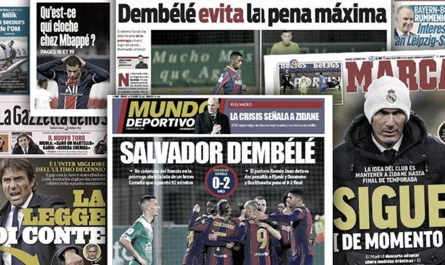 Dembélé rettet Barca | Zidane verspielt Kredit