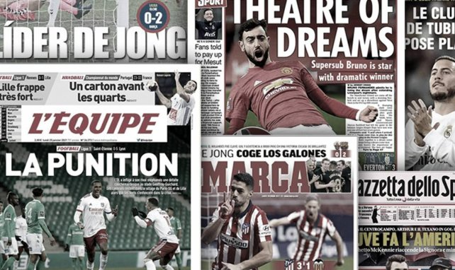 Suárez beschenkt sich selbst | Fernandes verwandelt United