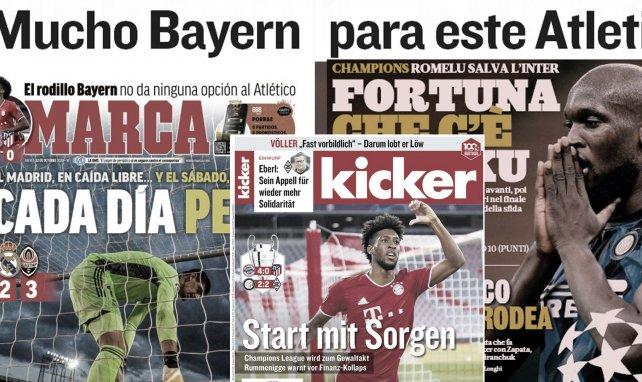 Pressestimmen: Atlético von Bayern überwältigt | Keine Gnade mit Real
