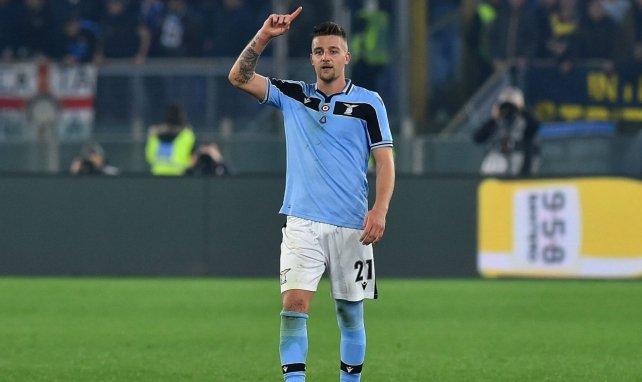 Sergej Milinkovic-Savic spielt bereits seit 2015 für Lazio