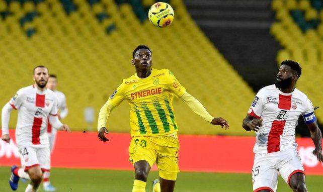 Randal Kolo Muani ist für den FC Nantes am Ball