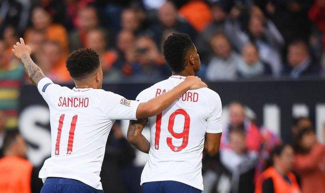 """Rashford über Sancho: """"Hoffentlich können wir zusammenspielen"""""""