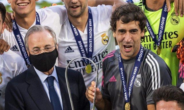 Real statt Eintracht: Raúl Favorit auf Zidane-Nachfolge
