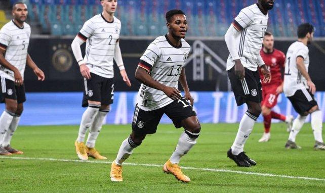 Ridle Baku bei seinem DFB-Debüt